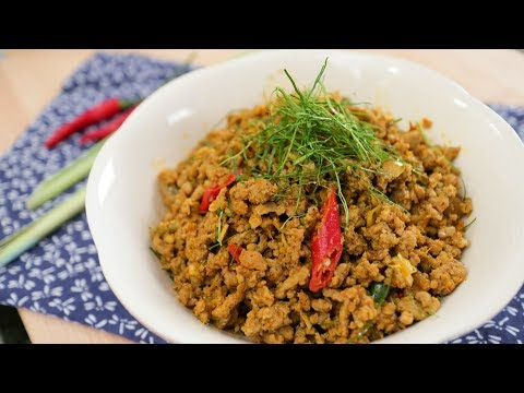 Kua Gling Recipe – Southern Pork Stir-Fry w/ Curry Paste  Hot Thai Kitchen!