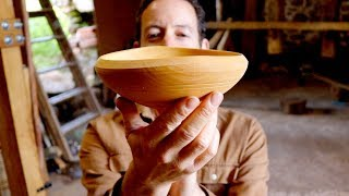 Beginners Guide To Pole Lathe Bowl Turning - Sharif Adams