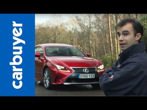 Lexus RC coupe 2016 review - Carbuyer