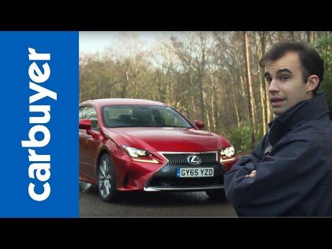Lexus RC in-depth review - Carbuyer
