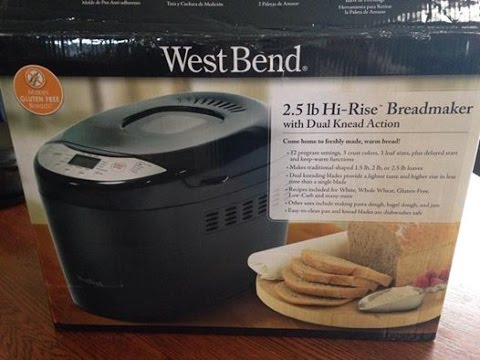 WestBend 2.5 Bread Machine - Product Review