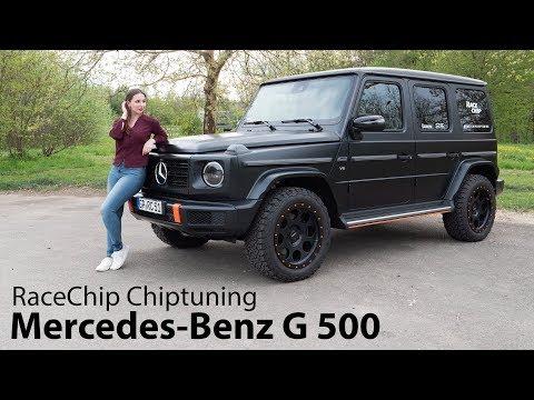 2019 Mercedes-Benz G 500 mit RaceChip GTS Black / Was bringt das Chip-Tuning? - Autophorie