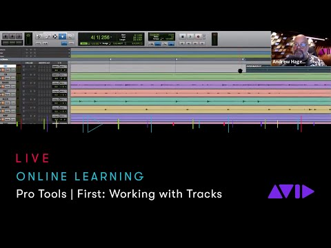 Avid Online Learning — Pro Tools   First: Working with Tracks ...