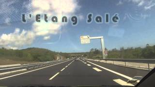 preview picture of video 'Time-Lapse Saint Denis - Tampon [Reunion island ]'
