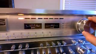 Pioneer SX-1980 FM Tuner Demonstration