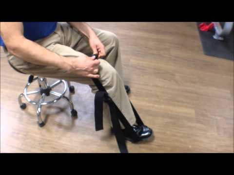 Video Quadriceps massage, strain and trigger point treatment with Muscle Wizard