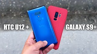 HTC U12+ vs Samsung Galaxy S9+ Camera Comparison Test!