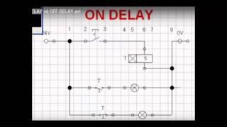 Bài 7 - Hướng dẫn chi tiết các trạng thái On Delay và Off Delay của Rơ le thời gian