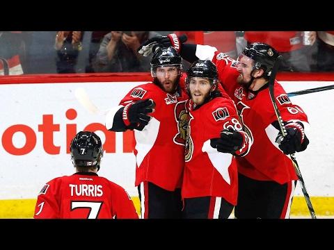 Hoffman's goal helps Senators force Game 7 with Penguins