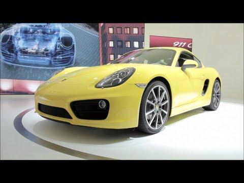 2014 Porsche Cayman - 2012 L.A. Auto Show