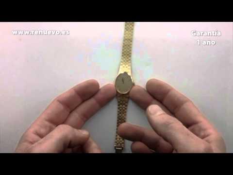 Reloj OMEGA de oro de 18 kilates de segunda mano E238214A