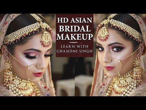 Bridal Makeup Tutorial   Step By Step Bridal Makeup   Indian Brides   Chandi Singh