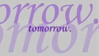 Tomorrow by A1 (Lyrics)