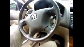 Atlanta GA: 2004 Honda Accord - Ignition Lock Problem Repaired!