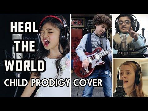 Michael Jackson Tribute - Heal The World - Child Prodigy Cover | Maati Baani
