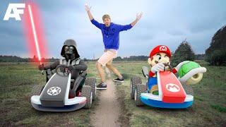 Mario Kart vs. Star Wars in REAL LIFE