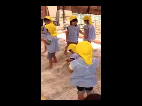 3歳児の砂遊びbyいわき市の幼稚園 清風幼稚園