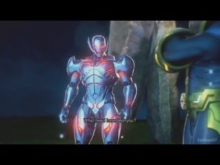 Marvel Vs Capcom Infinite - Thanos Meets Ultron Sigma / Ultron Sigma Betrayal