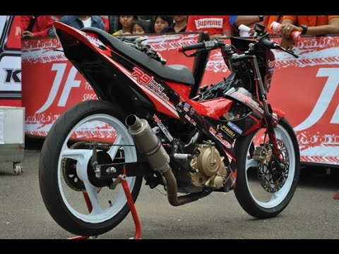 Video Motor Trend Modifikasi | Video Modifikasi Motor Suzuki Satria FU Road Race Terbaru
