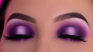 Purple Smokey Halo Eye Look Tutorial