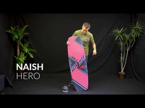 2018 Naish Hero Kiteboard Review