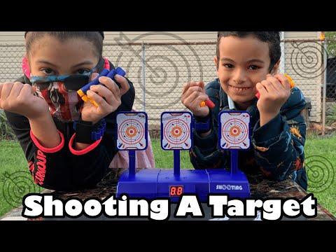 Kids Toys for Boys Kids Toy For Girls - Amazon Shooting A Target Game Nerf Gun -  Kids Toys Videos
