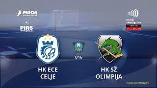 U-16 DP 24.2.2018 HK ECE Celje – HK Olimpija 0:6