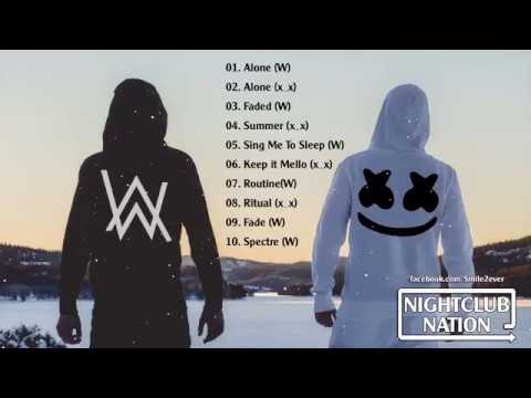 Alan Walker & Marshmello Mix 2017   Best Songs Ever Of Alan Walker & Marshmello   Electro House 2017