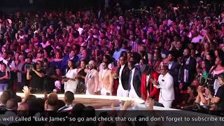 New Edition - Lifetime achievement award performance