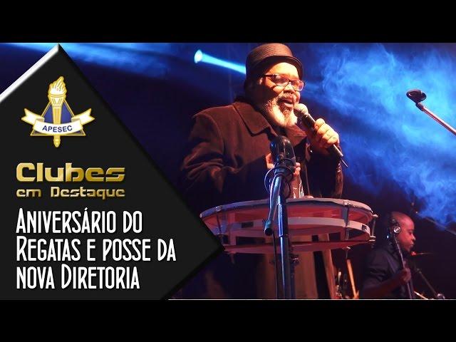 Clubes em Destaque 28-04-2015 Aniversário do Clube Campineiro de Regatas e Natação e posse da nova diretoria, com show de Jorge Aragão.