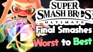 Ranking Every Final Smash in Super Smash Bros Ultimate