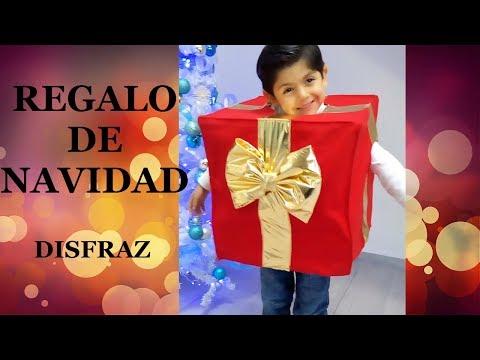 REGALO DE NAVIDAD DISFRAZ