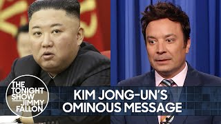 Kim Jong-un's Ominous Message to the U.S., Tokyo Olympics' Audience Restrictions | The Tonight Show
