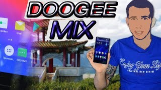Смартфон DOOGEE Mix 6/64GB Black от компании Cthp - видео 3