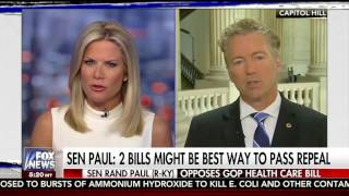 Rand Paul Knows How to Pass the Healthcare Bill