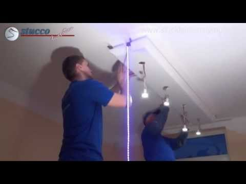 3  Led Spot Ort Installation und RGB Led Strips