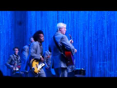 """David Byrne , """" Burning Down the House """"Aug 11, 2018  Rose Music Center , Huber Heights, Ohio  live"""