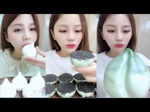 Sütlü Buz Yemek Videoları - #132 ASMR (Frozen Milk Eating)
