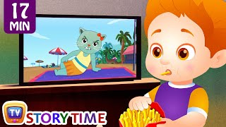 ChaCha Watches Too Much TV + More Good Habits Bedtime Stories & Moral Stories for Kids – ChuChu TV