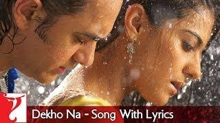 Lyrical: Dekho Na Song with Lyrics | Fanaa | Aamir Khan