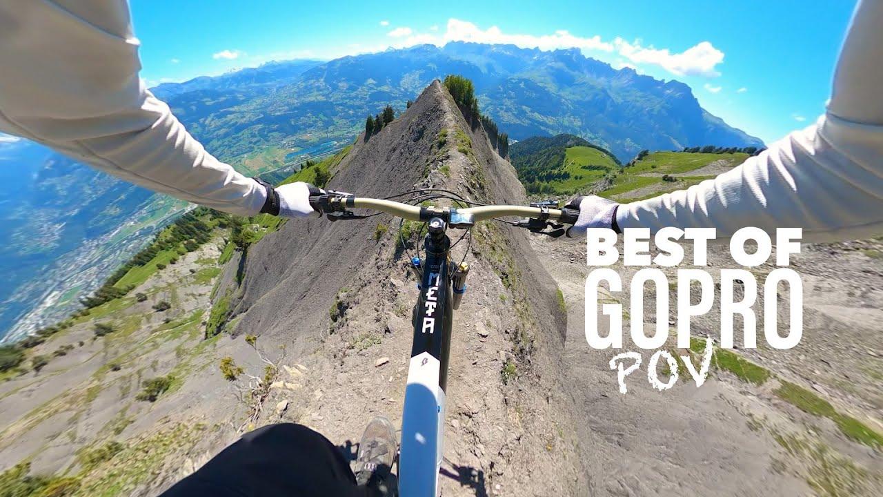 Una bici, una GoPro e Kilian Bron