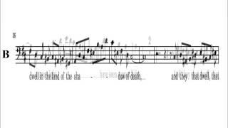 12 - Handel Messiah  Part 1 - People Walked In Darkness -  Bass