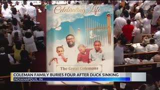 Funeral for Family of Tia Coleman
