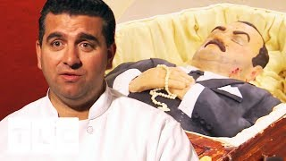 A Coffin Cake Fit For A Vampire | Cake Boss