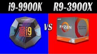 3900x vs 9900k 1440p - TH-Clip