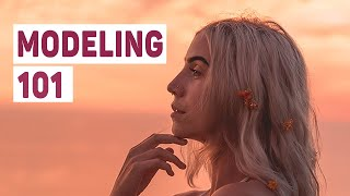 How To Pose Your Face, Hands And Hair  |  MODELING 101