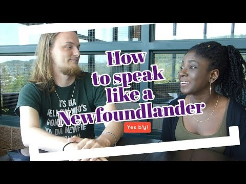 How to Speak like a Newfoundlander| Fi Di Kulcha: Episode 1