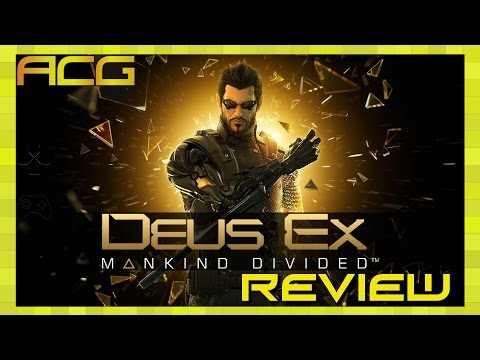 "Deus Ex: Mankind Divided Review ""Buy, Wait for Sale, Rent, Never Touch?"" - YouTube video thumbnail"
