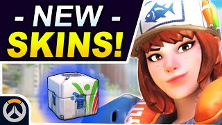 ALL NEW SKINS & Items! - Overwatch 2020 Summer Games Event!