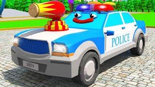 Мультики про Машинки Полицейская Машина СУПЕР ИГРЫ и ГОНКИ в Городе Новая Серия для Детей